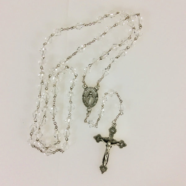 Crystal Fire Polished Rosary