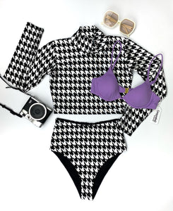 houndstooth bottom