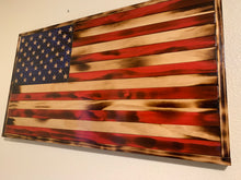 Load image into Gallery viewer, Traditional Rustic American Flag
