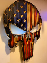 Load image into Gallery viewer, Handmade Punisher Skull