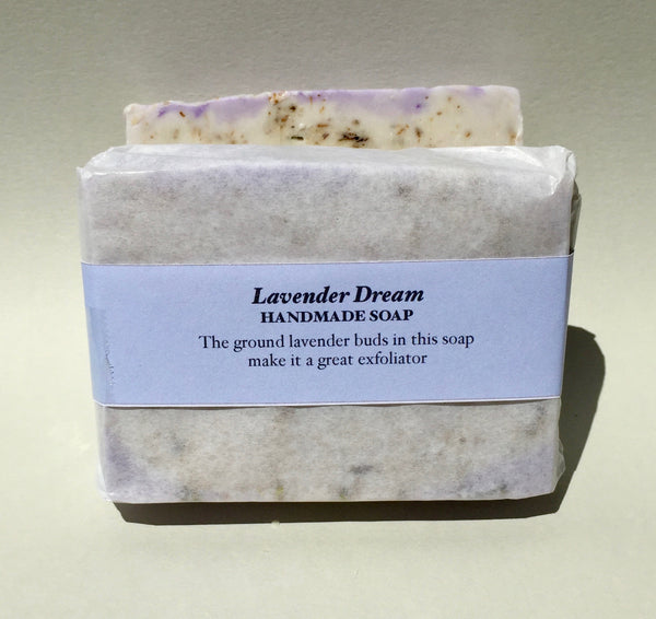 Lavender Dream Soap - scented with Lavender, Sweet Orange & Patchoulli