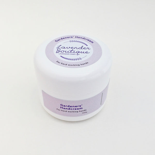 Gardeners' Handcream - for hard working hands - 50gm and 100gm