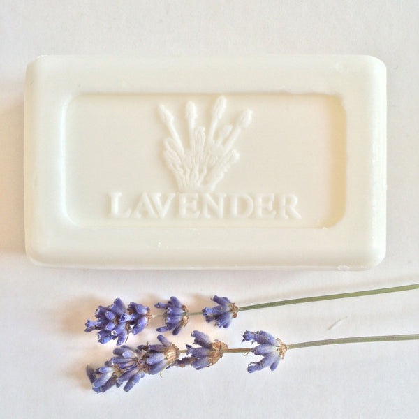 Soap - Lavender Embossed