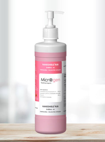 Handshield Rub Surgical Hand & Skin Disinfectant  <br> 500 ml