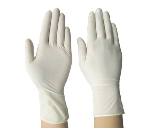 613 Rakshak Latex Rubber Examination Hand Gloves