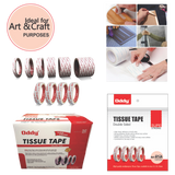 Oddy Tissue Tape - Double Sided 15 Mtrs
