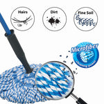 Microfiber Twist Mop Modular <br> Pack of 3