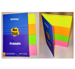 RS-PR4-S Small Re-Stick Paper Prompts in 4 Colors