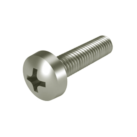 M6 304 Stainless Steel Pan Phillipes Machine Screw <br> Pack of 100