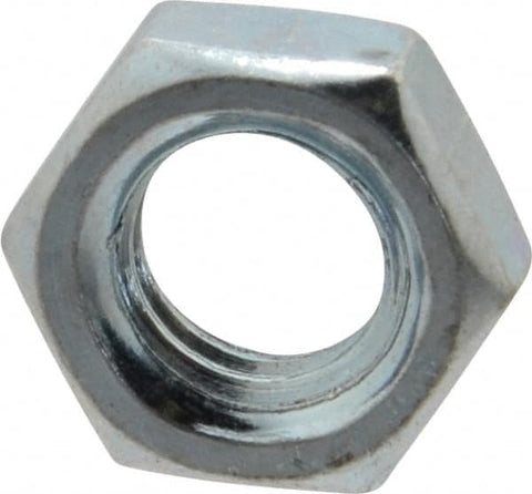Metric Zinc Plated Hex Thin Nuts <br> Pack of 100