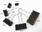 Binder Black Clips