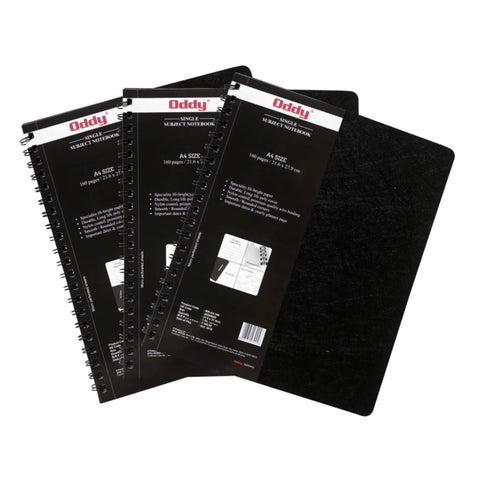 WR-RS-A6-160 Wiro Note Books A6 With Sticky Notes