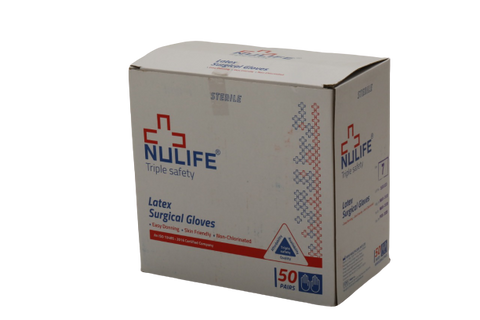 Nulife Hand Gloves - Certified Latex