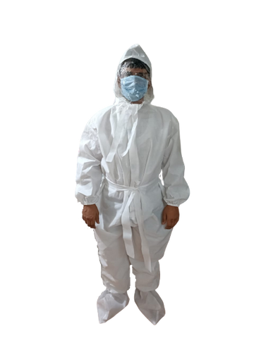 PPE Suit with Hoodie 60gsm