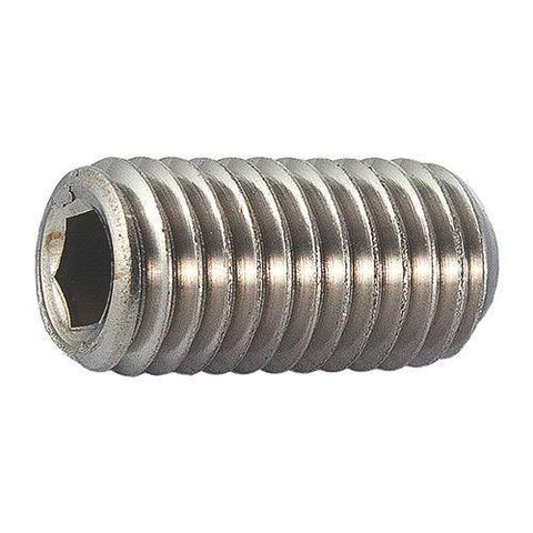 M5 304 Stainless Steel Grub Screws <br> Pack of 100