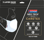 Buy (3) Packs of Donear 3-Layer Masks and Get Covid Key FREE