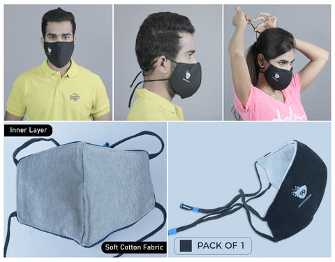 Defend99 3 Layer Face Mask <br> Pack of 3