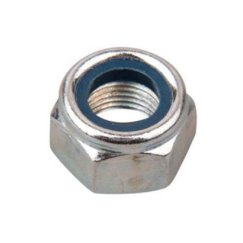 316 Stainless Steel Heavy Hex Nylock Nut <br> Pack of 100
