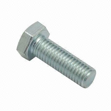 M16 Zinc Plated Hex Head Screws <br> Pack of 10