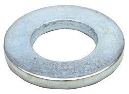 Inch Zinc Plated Flat Washer <br> Pack of 1000