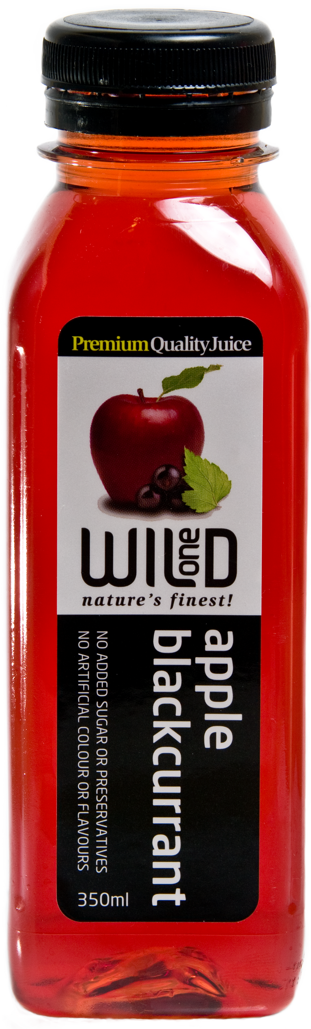 350ml (12) Apple & Blackcurrant Juice - Wild One