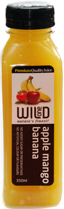 350ml (12) Apple Mango & Banana Juice - Wild One