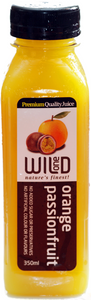 350ml (12) Orange & Passionfruit Juice - Wild One