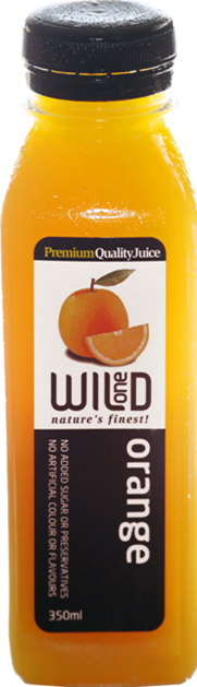 350ml (12) Orange Juice - Wild One