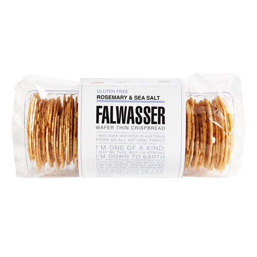 120gm Gluten Free Rosemary & Sea Salt Falwasser