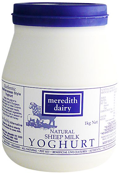 500gm BLUE Label Meredith Sheep's Milk Yoghurt