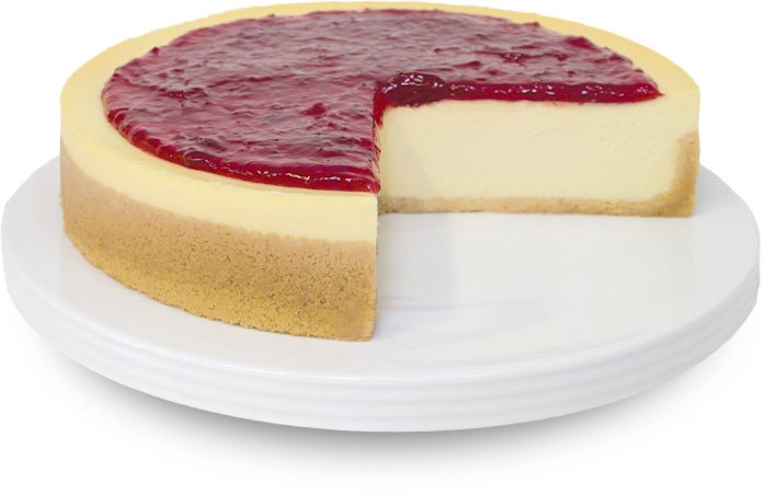 Gluten Free Strawberry Cheesecake