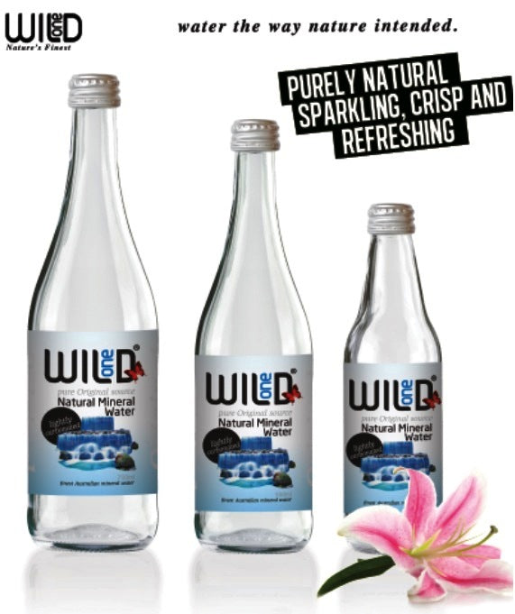 500ml (15) Natural Sparkling Water - Wild One