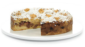 15cm Rhubarb & Apple Crumble - Yael's