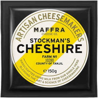 Maffra 150gm Stockman's Cheshire Cheese Portion