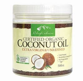 500ml Chef's Choice E/Virgin Organic Coconut Oil