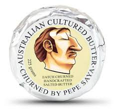 3 x 225gm Pepe Saya Cultured SALTED Butter