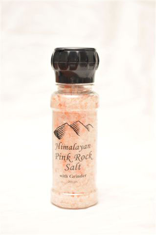 Himalayan Pink ROCK SALT Grinder 200gm