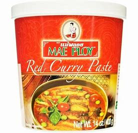 400gm Mae Ploy Red Curry Paste