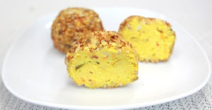 (6) Spicy Vegetable Rissoles - Posh Foods
