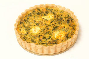 "LARGE Spinach and Ricotta Quiche 8"" - Posh Foods"