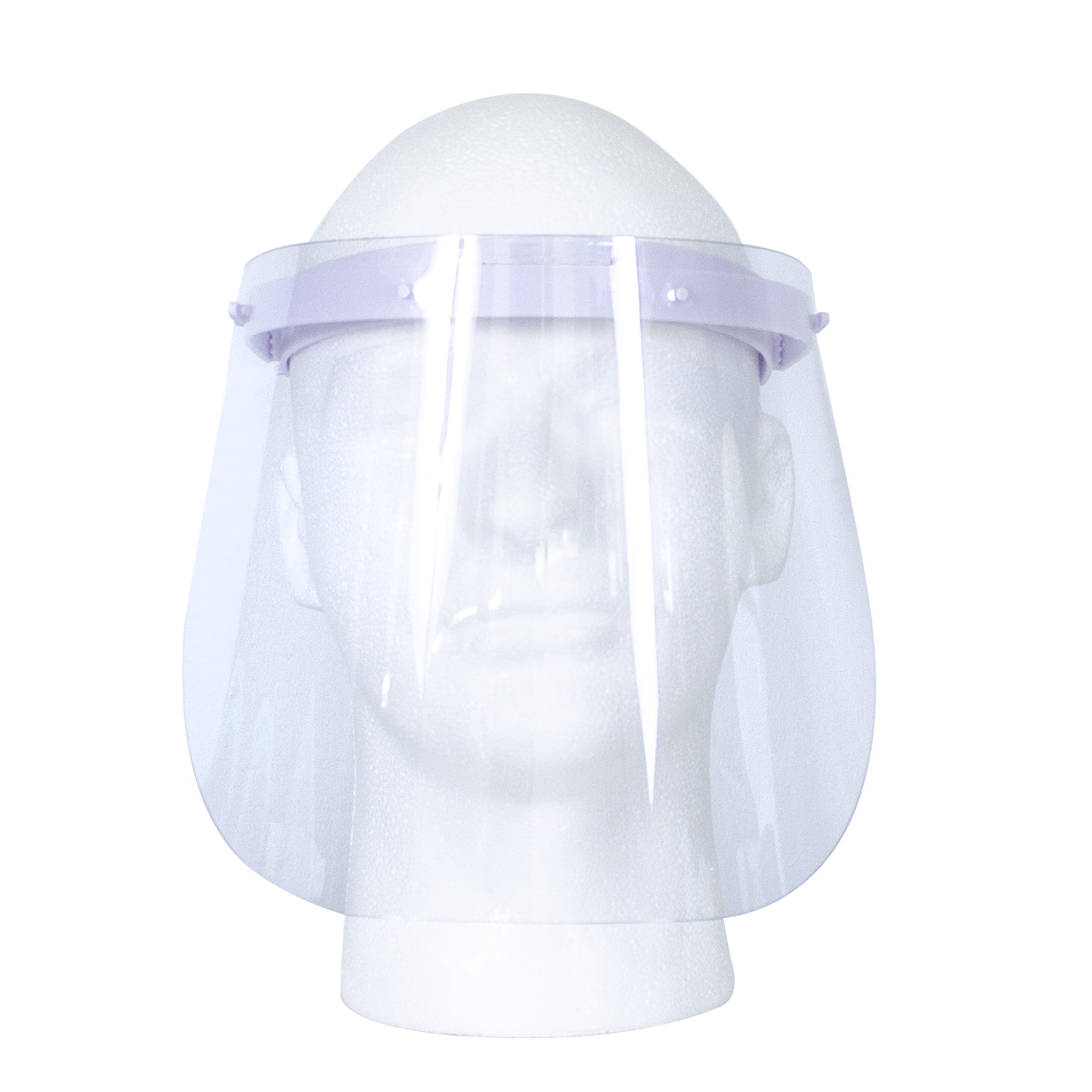10 Adjustable Protective Face Shield Medium 2 Colors