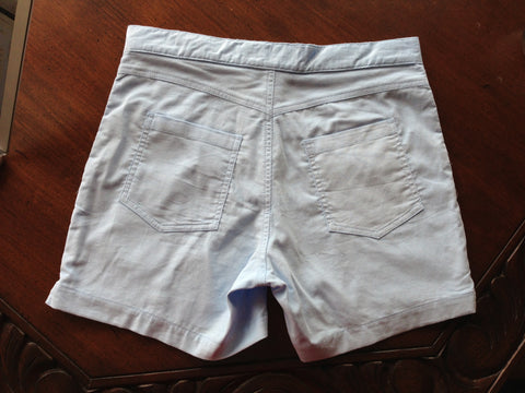 Close Up of Men's Retro Short Shorts - Info About the Yimps Tag