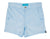 Baby Blue Mens Retro Trunks