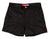 Black Mens Retro Trunks