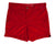 Red Mens Retro Trunks