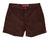 Brown Mens Retro Trunks