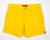 Yellow Mens Retro Trunks