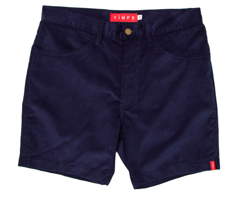 Navy Blue Vintage Short Shorts