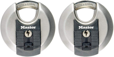 Master Lock - 2 Padlock, Set Your Own Combination Lock, Pack of 2