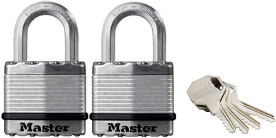 Master Lock - High Security Padlock  with Key - 45mm Wide Body